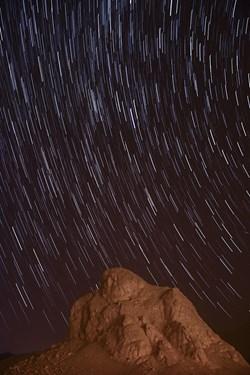 رد ستارگان در شهرستان تفت و عقاب کوه یزد