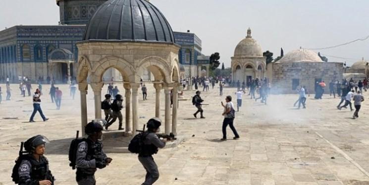 روز پر تنش مسجدالاقصی؛ هشدار مقاومت فلسطین: شمشیر نبرد را غلاف نکردهایم + فیلم