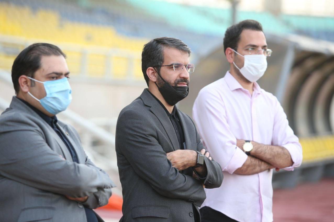 آخرین تمرین پرسپولیس پیش از سفر به تبریز در حضور مدیرعامل +تصاویر