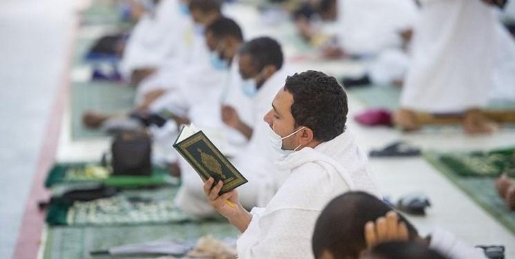 اقامه نماز ظهر در مسجد نُمره همزمان با روز عرفه+عکس و فیلم