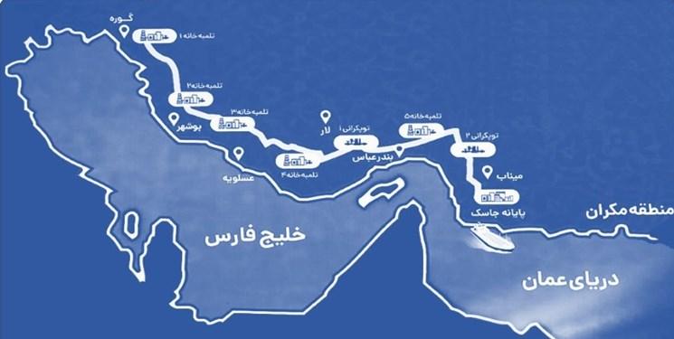 پیشرفت فیزیکی خط لوله گوره-جاسک زیر ذرهبین/ ایران میتواند از دریای عمان نفت صادر کند؟