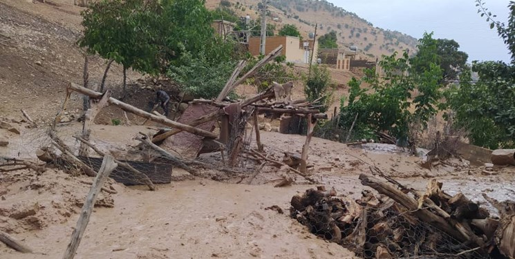 امدادرسانی به ۷۰۰خانوار سیل زده در روز عید قربان توسط هلال احمر کهگیلویه و بویراحمد