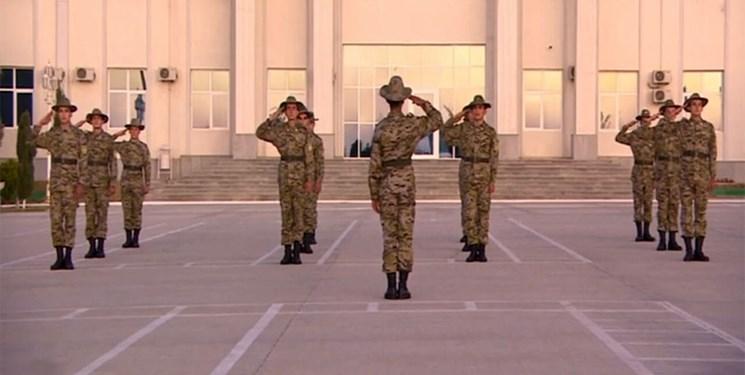 مرو،تركمنستان،سربازان