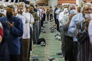 گزارش تصویری/  برگزاری نماز عید سعید قربان در تبریز
