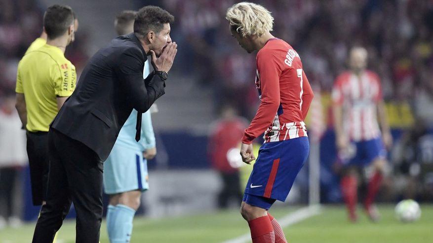 واکنش سیمئونه در مورد آینده گریژمان در بارسلونا