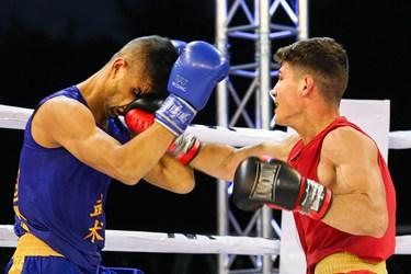 فینال مسابقات مبارزه جنگجویان ووشو (wwf)