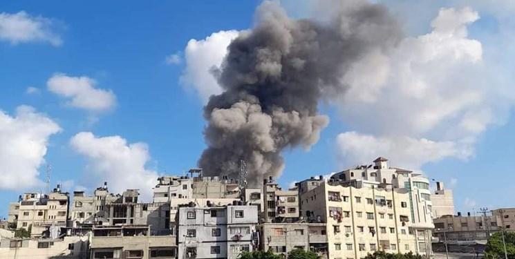 وقوع انفجار بزرگ در نوار غزه
