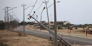 باد و صاعقه ۳۹ میلیارد ریال به تأسیسات برق بوشهر خسارت زد
