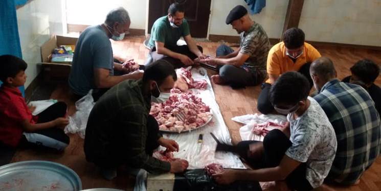 قربانی ۲۱۷ راس گوسفند میان نیازمندان توسط سپاه ناحیه احمدبنموسی(ع)