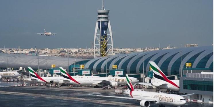 برخورد دو هواپیما در فرودگاه بینالمللی دبی