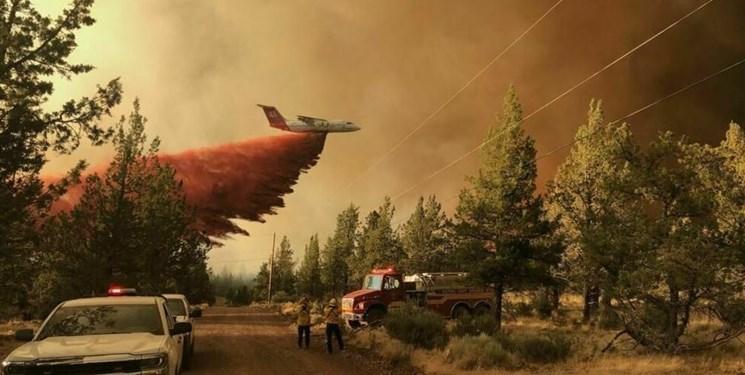 آتشسوزی گسترده در غرب کانادا؛ هزاران نفر مجبور به ترک منطقه شدند