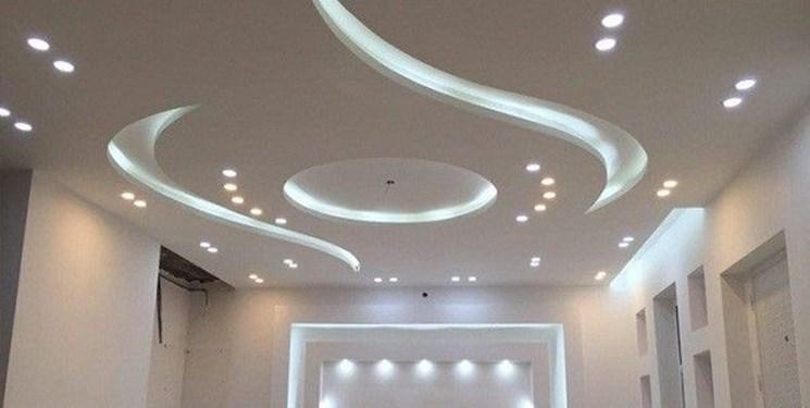 سقف کاذب و کناف سقف شهام دیزاین