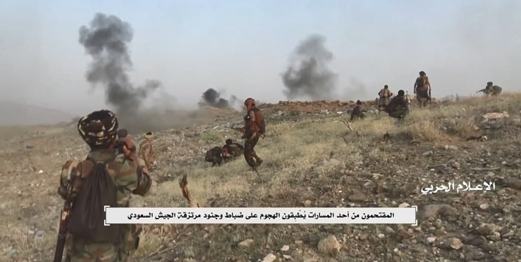 انتشار ویدئویی از عملیات جدید ارتش یمن در مرز با عربستان