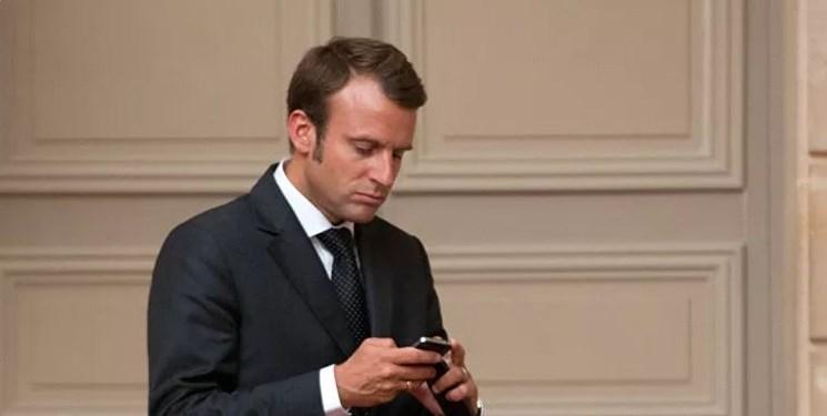 فرانسه،رئيس،پگاسوس،افزار،جمهور،صهيونيستي،جاسوس،تلفن،همراه،قرار