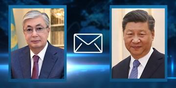 همدردی رئیس جمهور قزاقستان با همتای چینی