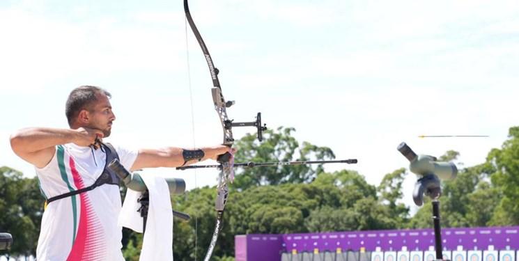 میلاد وزیری در رقابت با ورزشکار آمریکایی