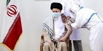دریافت دُز دوم  واکسن ایرانی کرونا توسط رهبر انقلاب