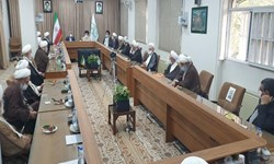 دیدار فرمانده سپاه قدس با اعضای جامعه مدرسین حوزه علمیه