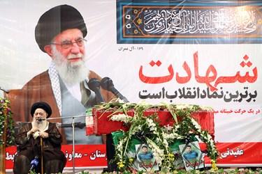 سخنرانی  آیت الله سید محمد علی موسوی جزایری ، زعیم حوزههای علمیه خوزستان