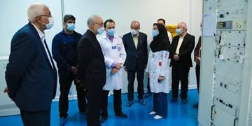 رئیس سازمان انرژی اتمی کشور از بیمارستان رضوی بازدید کرد
