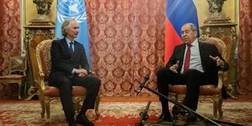 لاوروف و نماینده سازمان ملل بر ضرورت بازگشت کامل حاکمیت و وحدت سوریه تاکید کردند