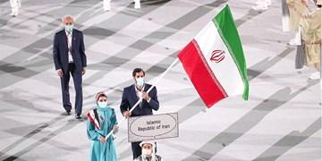گزارش خبرنگار اعزامی فارس از توکیو| به روزرسانی/ پرچمداری نیکخواه و رستمیان با لباس اولیه/ ادامه اعتراض ها در حضور باخ+عکس و فیلم