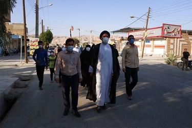 حضور حجت الاسلام سید عبدالنبی  موسوی فرد، نماینده ولی فقیه در خوزستان و امام جمعه اهواز