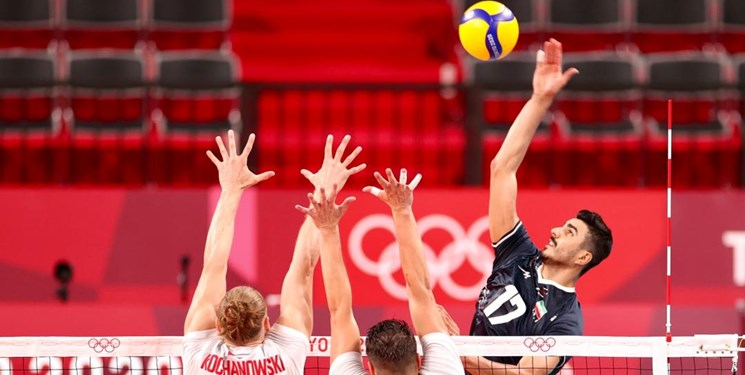 المپیک توکیو| والیبال ایران چگونه لهستان را شکست داد؟