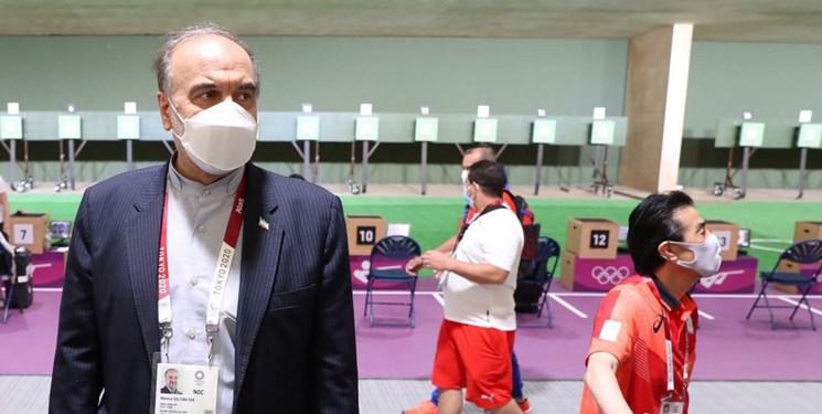 المپیک توکیو| نظر وزیر ورزش درباره دهمی ملی پوش تیراندازی: نتیجه خوبی بود