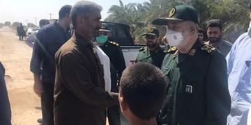نامه محسن رضایی به سردار سلامی و تقدیر از تلاشهای سپاه در خوزستان