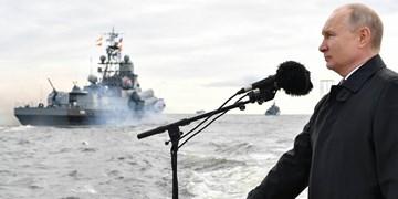پوتین: روسیه قادر به شناسایی و حمله به دشمن در هر سطحی از دریا، هوا و زمین است