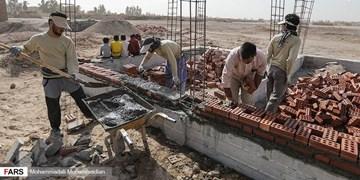بهرهبرداری از مخزن آب شرب روستای وناش در منطقۀ صعب العبور