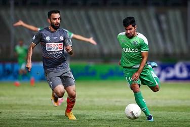 دیدار تیمهای سایپا و آلومینیوم اراک از هفته بیست و نهم مسابقات لیگ برتر