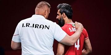 گزارش تصویری از پیروزی قاطع والیبال ایران مقابل ونزوئلا