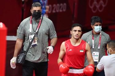 گزارش تصویری از شکست موسوی مقابل بوکسور ژاپنی