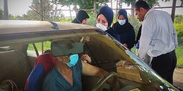 گزارش ویدیویی| واکسیناسیون خودرویی کرونا در گیلان