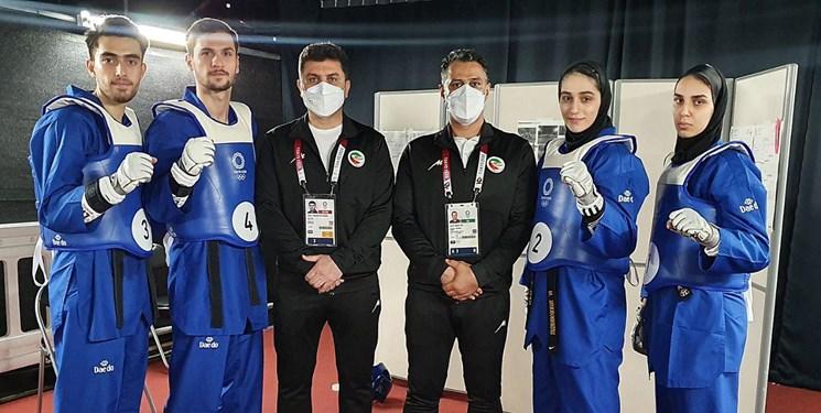 پایان تلاش ورزشکاران آذربایجانشرقی در المپیک توکیو/نقره نمایشی در تکواندو