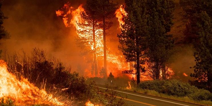 جهنم کالیفرنیا؛ 5400 آتشنشان در تلاش برای مهار آتشسوزی+فیلم و عکس