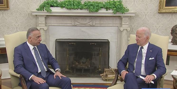 بیانیه پایانی دیدار جو بایدن و مصطفی الکاظمی: اتمام مأموریت رزمی آمریکا در عراق در پایان ۲۰۲۱