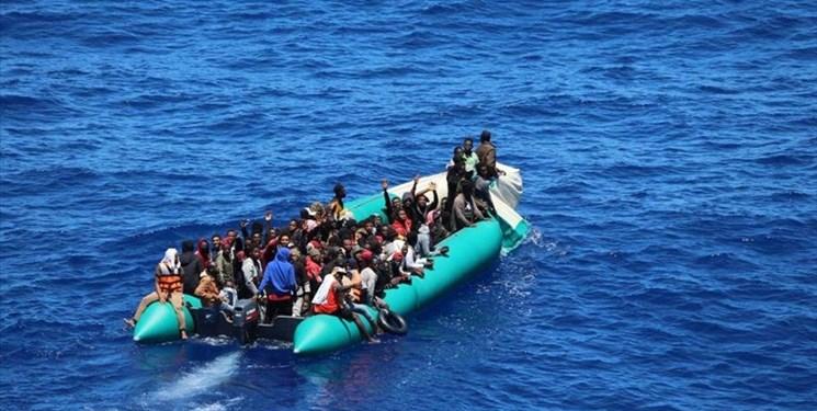 غرق شدن کشتی مهاجران در سواحل لیبی؛ ۵۷ نفر شامل دو کودک جان باختند