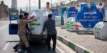 اعزام ۲۰۰ مخزن آب  به خوزستان