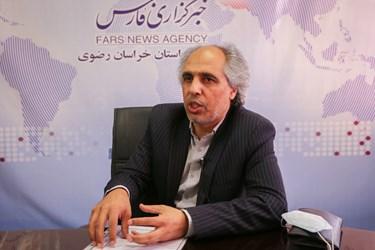 حسین انفرادی، مسؤول انجمن موسیقی سازمان بسیج هنرمندان خراسان رضوی
