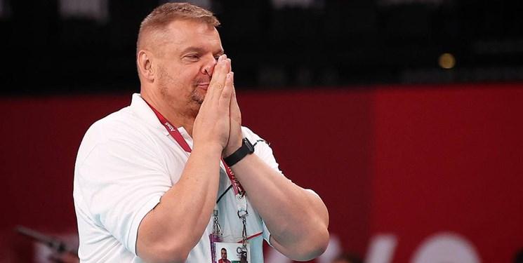 المپیک توکیو| آلکنو شکست مقابل کانادا را به گردن بازیکنان انداخت