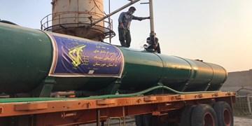 قرارگاه حضرت عباس، سقای خوزستان میشود/ ۶۲۰ تانکر چند هزار لیتری در مسیر خوزستان