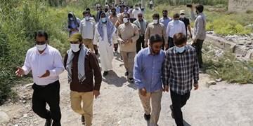 حضور جمعی از مداحان در خوزستان/ تقبل آبرسانی به یک روستا با هزینه 250 میلیون تومان