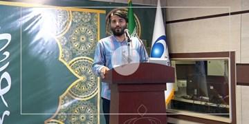 مدیحهسرایی حاج ابوذر بیوکافی در جشن عید غدیر