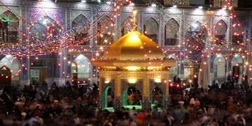 حال و هوای حرم و زائران بارگاه امام رئوف در آستانه عید بزرگ غدیرخم