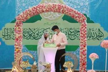 مراسم اهداء 23 سری جهیزیه برای زوج های جوان آبادانی