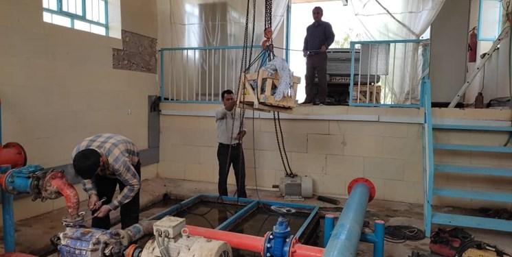 تقویت آبرسانی به روستاهای شهیون دزفول