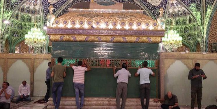 ایرانیان در حرم حضرت رقیه(س) عید غدیر را جشن گرفتند+عکس
